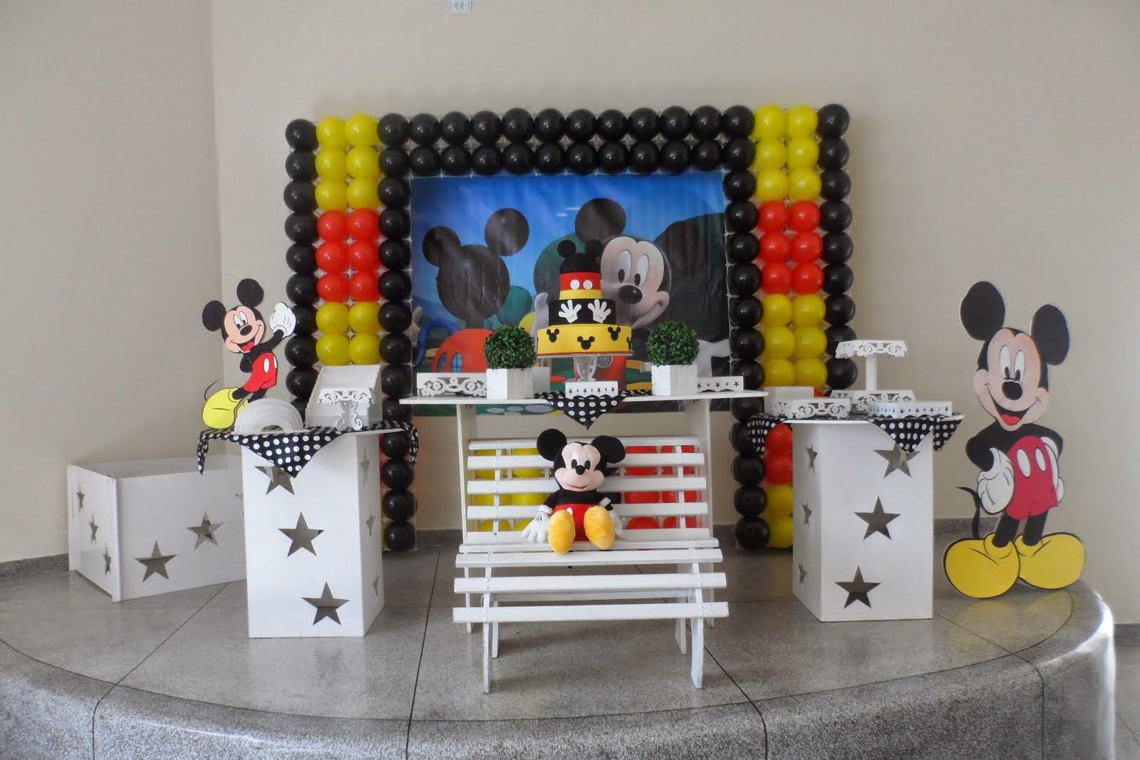 Decoração Estilo Provençal Mickey