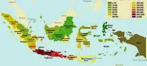 Peta tempat wisata di indonesia