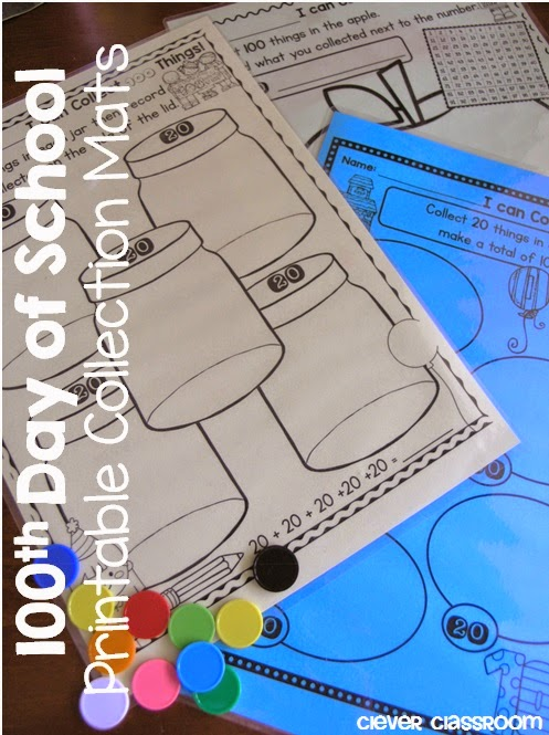 So many printables for the 100th day od school
