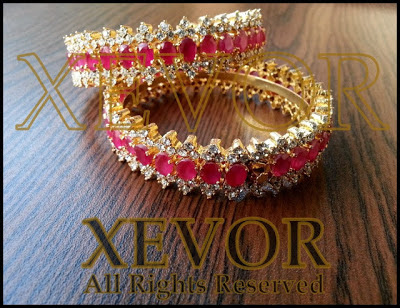 Xevor stones and kundan Latest jewellery Trend 2013-2014