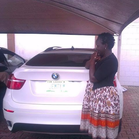 Anselm Madubuko Buys His New Wife Emmy Kosgei A BMW X6 Wedding Gift