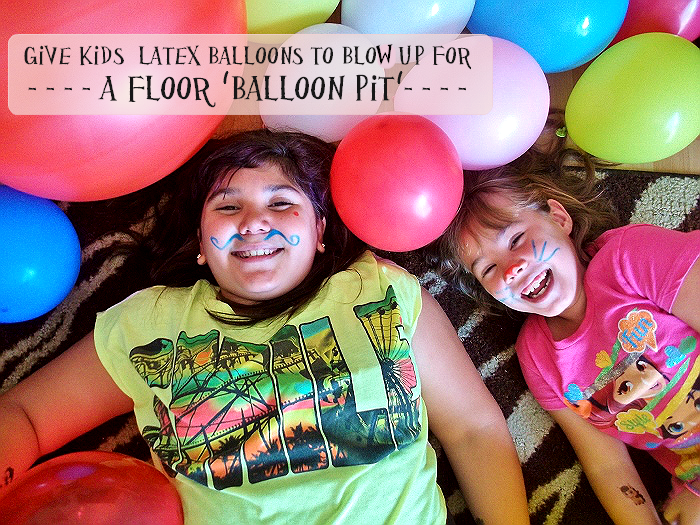 Faux Ball Pit for Unbirthday Party Fun!