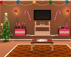 Juegos de Escape One Holiday Scene