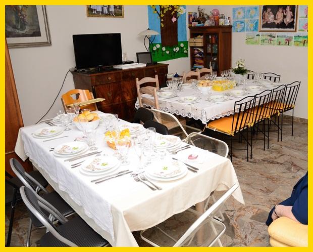 Studiamando liberamente la prima comunione di margherita tavola decorazioni e men - Addobbo tavola prima comunione ...