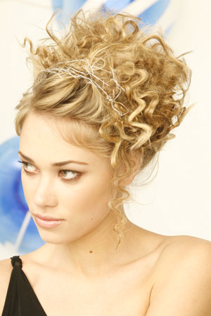 Wedding Hairstyles For Curly Hair