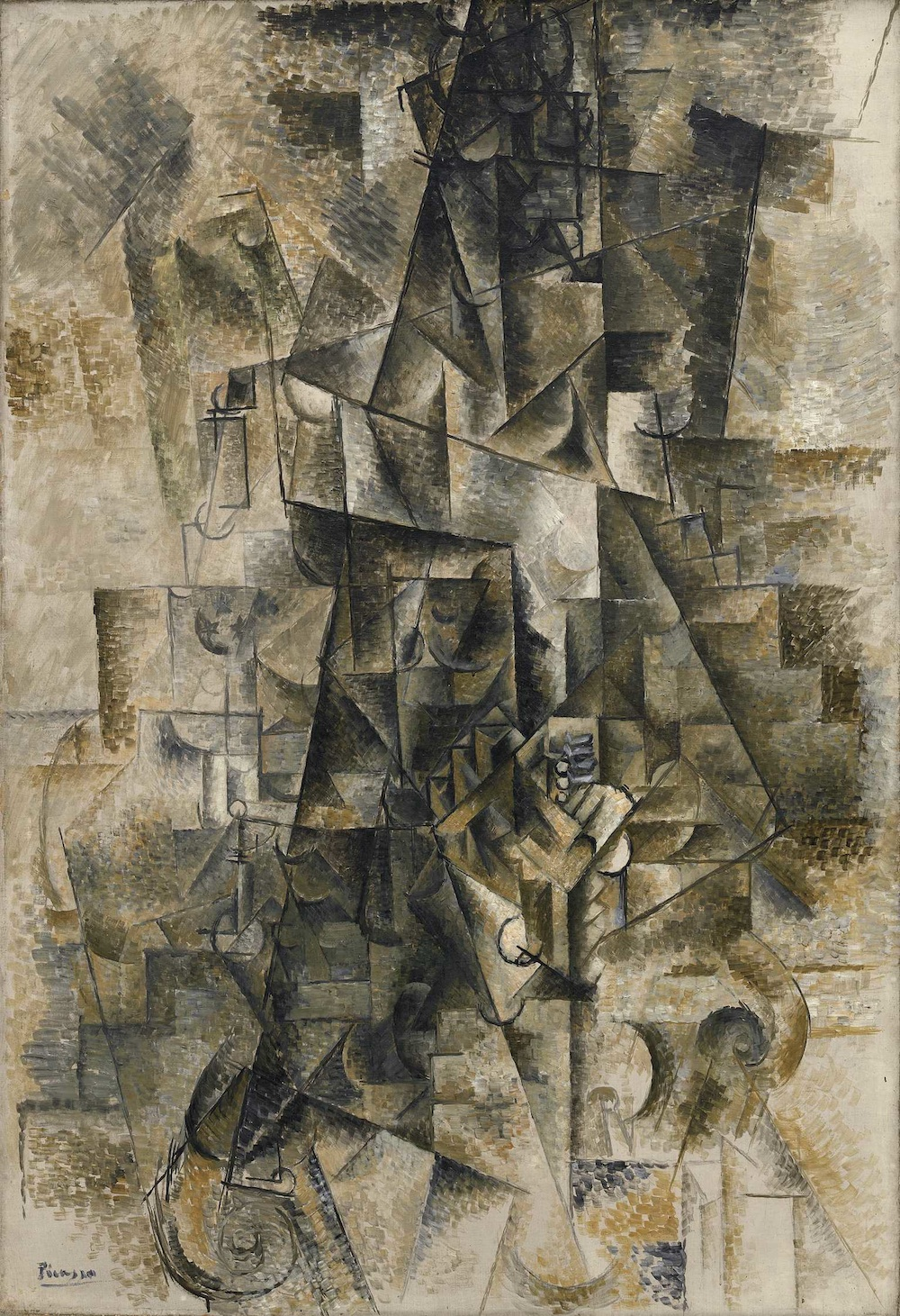 the great god pan is dead picasso s accordionist some  picasso s seminal accordionist is included in the museum of fine arts houston s picasso black and white exhibition and is the inspiration for this essay