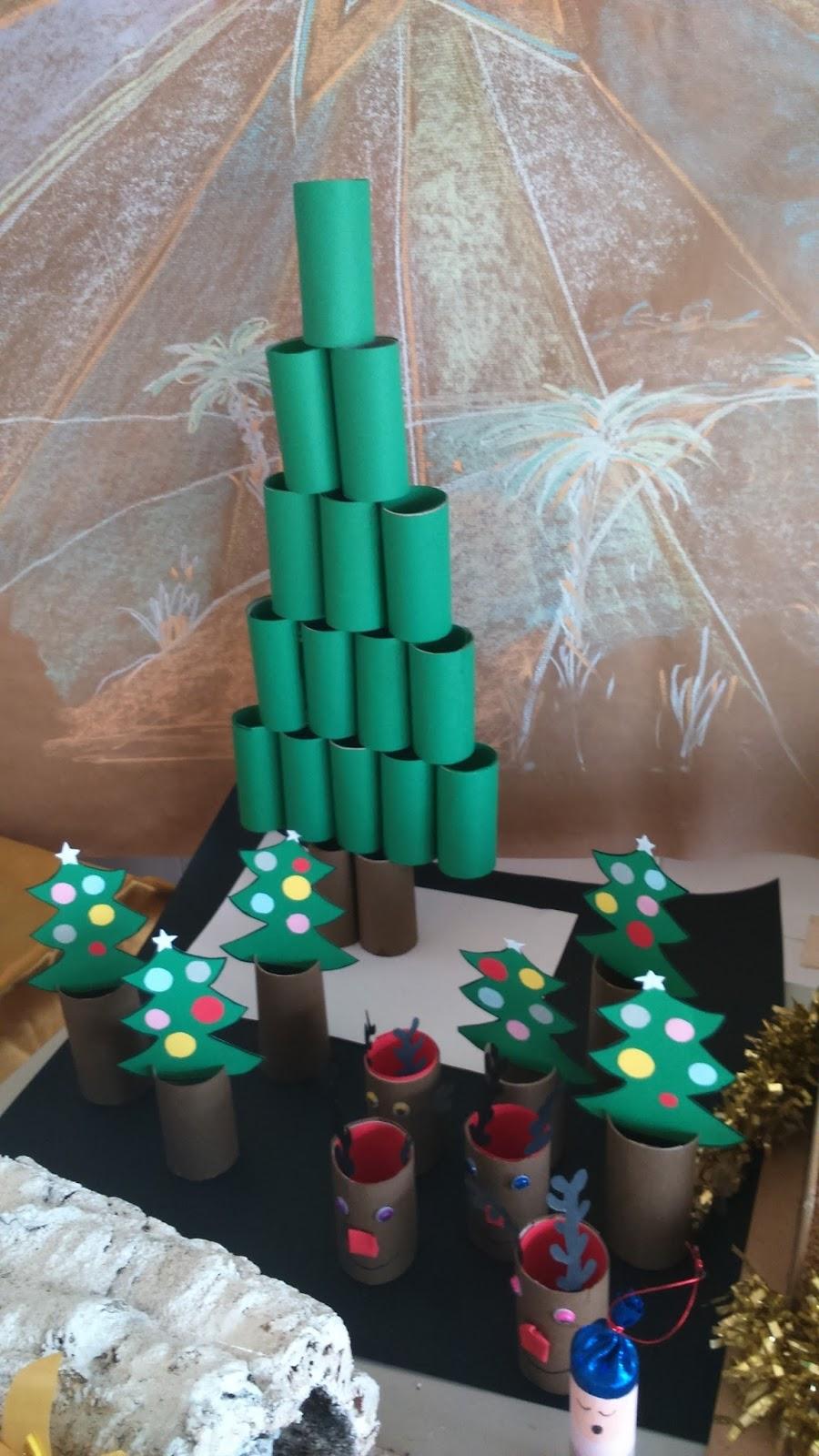 Emprendedores en calamonte concurso de adornos navide os - Videos de adornos navidenos ...