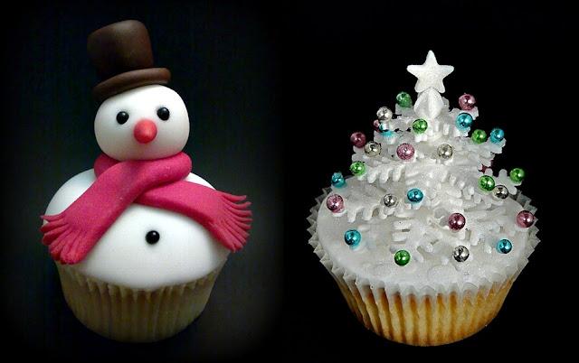 30 Amazing Christmas Cupcakes ideas 2017