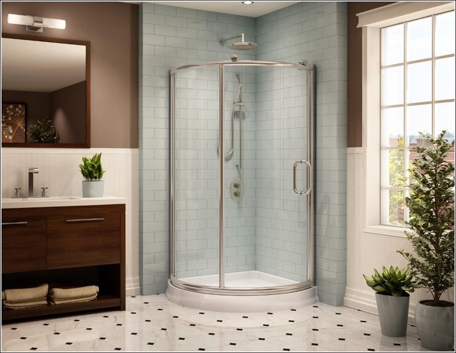 D co salle de bain avec cabine douche for Decoration de douche