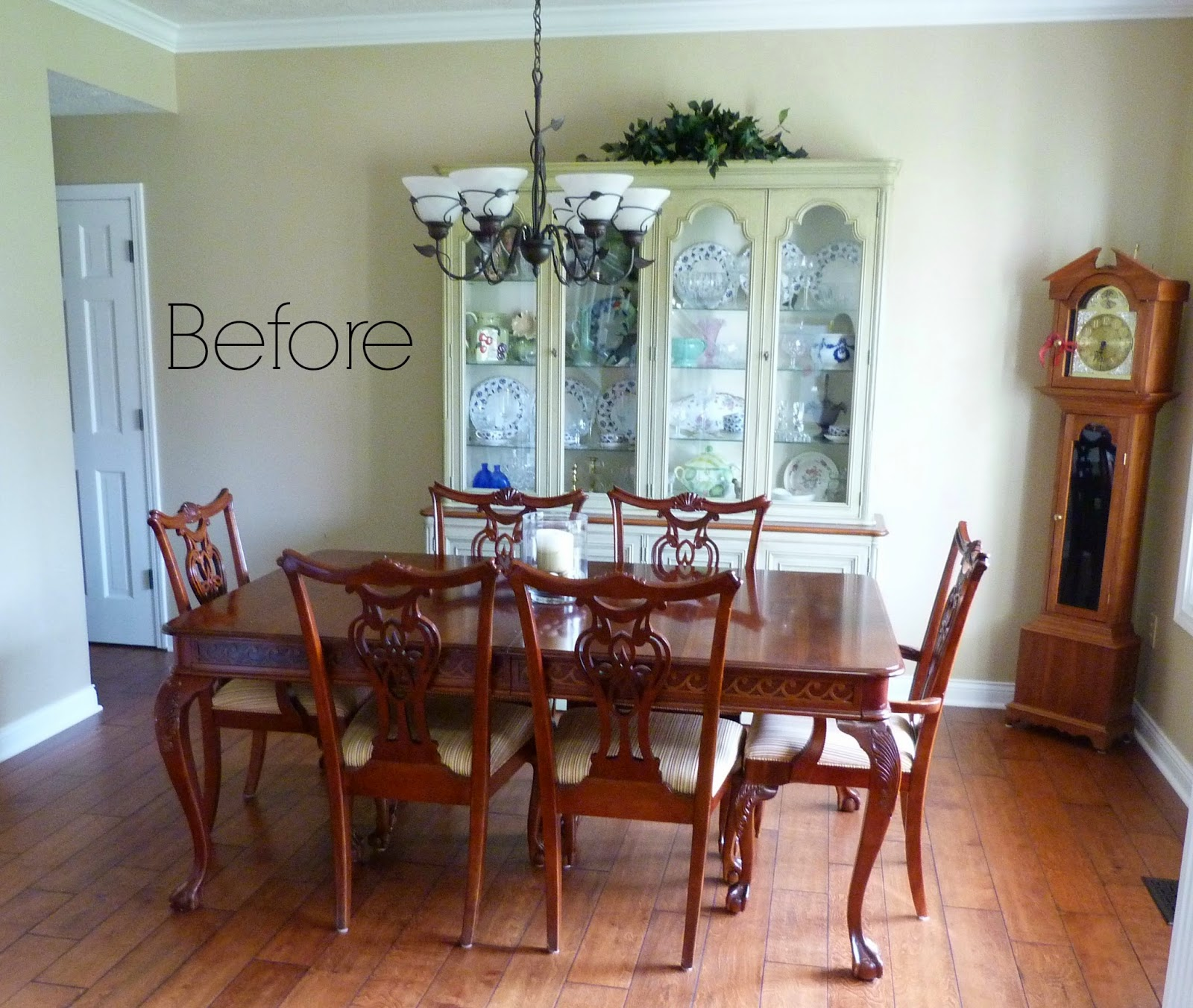 They Were Fortunate To Be Given This Very Nice, Dining Set And China  Cabinet From Her Mom. It Is Beautifully Made, Valuable Furniture And So The  Plan Was To ...