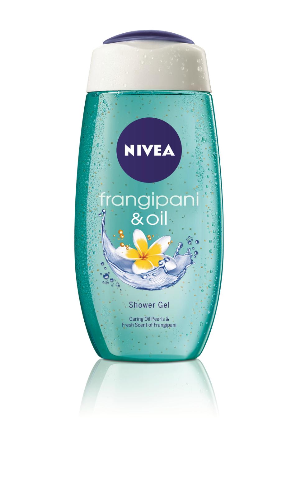 Nivea Women's Fragipani Shower Gel & Creme Coconut Shower Cream