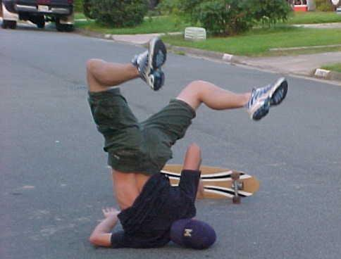 This is me today on my way to skate