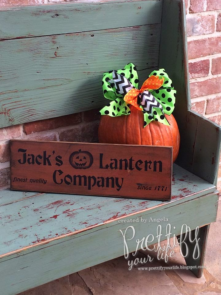 Prettify Your Life: Episode 113: Halloween Stairs