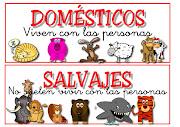 """Unidad Didáctica. """"Animales domésticos y salvajes"""". * Nivel: II"""