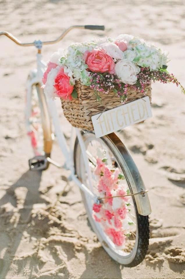 pon una bicicleta vintage en la decoración de tu boda - ▷ blog de