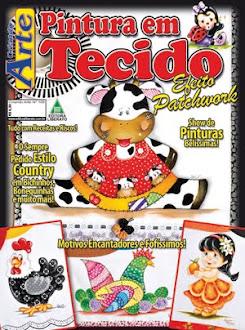 Revista Criando Arte 105 com Pinturas minhas!