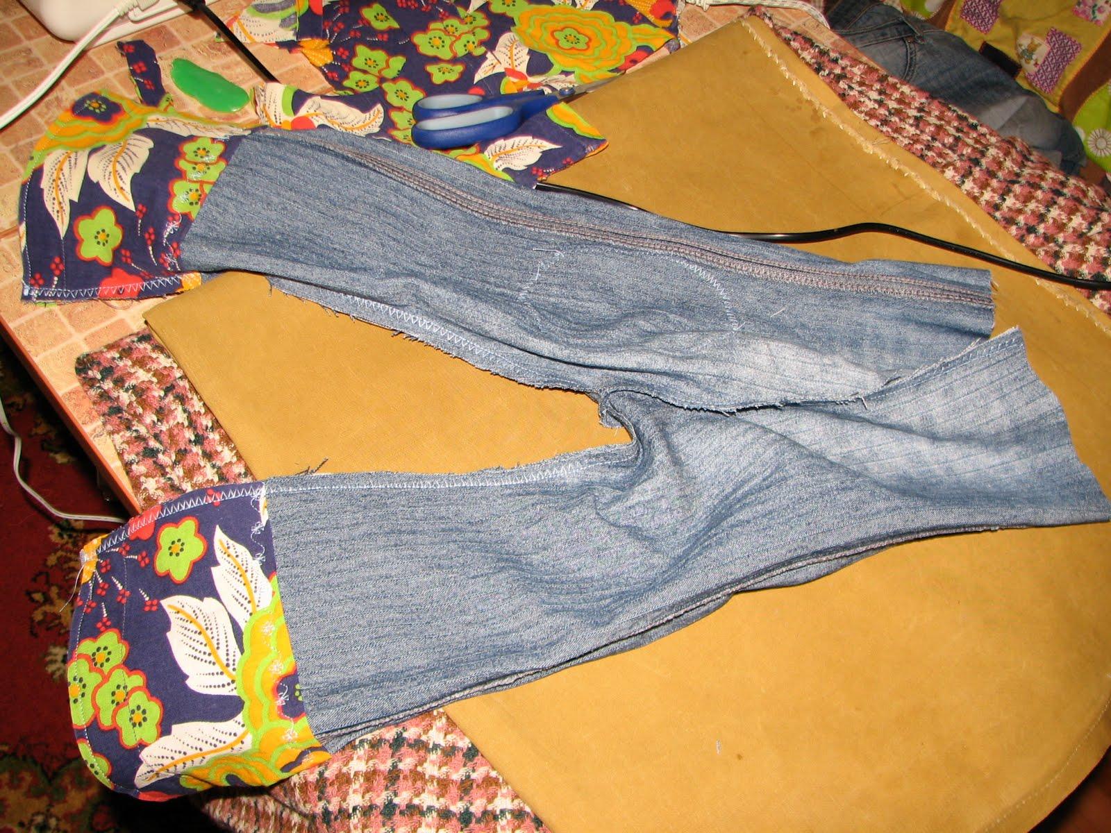 Детские джинсы (выкройка) своими руками 8
