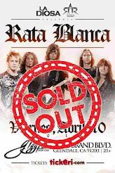 "RATA BLANCA EN EL ""GIGGLES NIGHT CLUB"" - 10/04/2015"