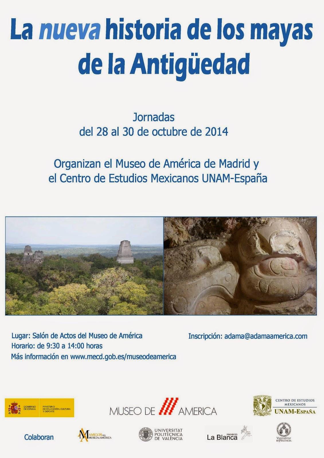 http://www.mecd.gob.es/museodeamerica/actividades2/ciclos-de-conferencias2/Mayas-2014.html