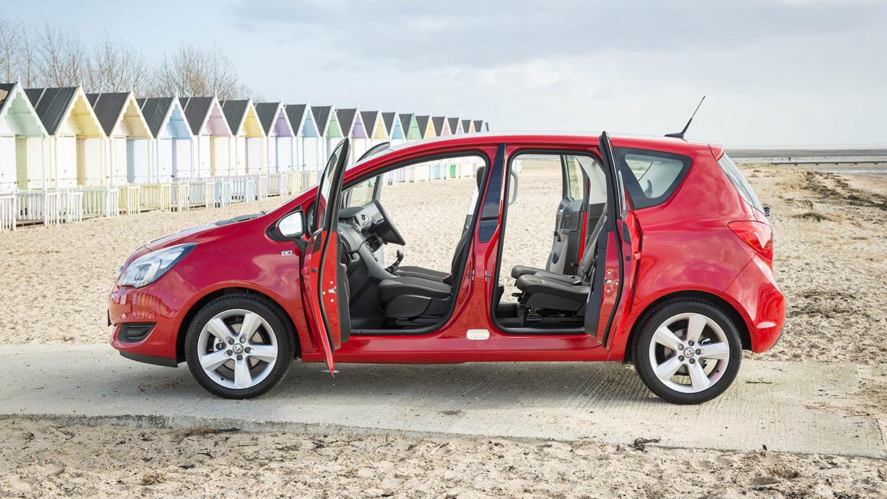 Vauxhall Meriva doors