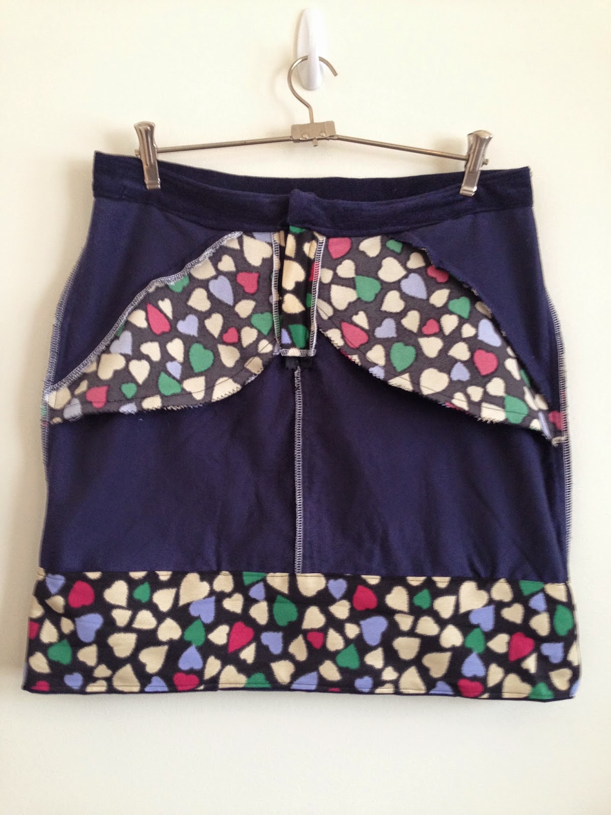 Cord Moss Skirt