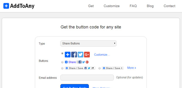 Share Buttons for Any Website - AddToAny