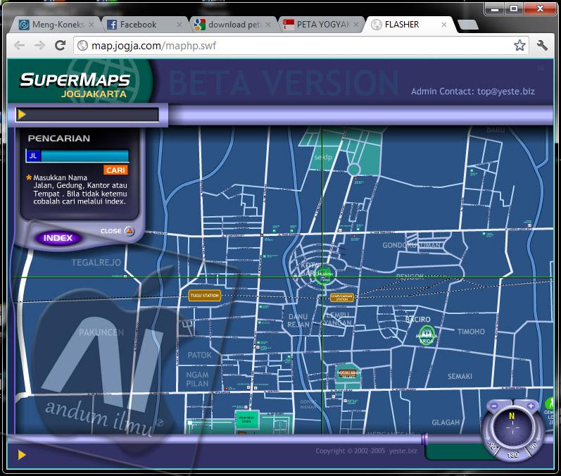 Download Peta Jogja Swf File