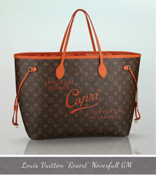 Louis Vuitton Resort Neverfull GM Capri