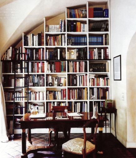 Library Ladder ~ Bellingham Lifestyle