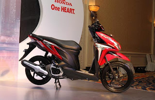 All About Speed: Video and Spesification : Honda Vario Techno 125