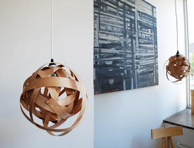 ของแต่งบ้านทำเอง: โคมไฟ DIY 1