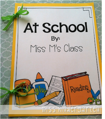 Class books {fun way to get your kids writing!}