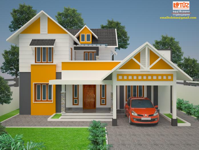 7 Cent House Plans Kerala