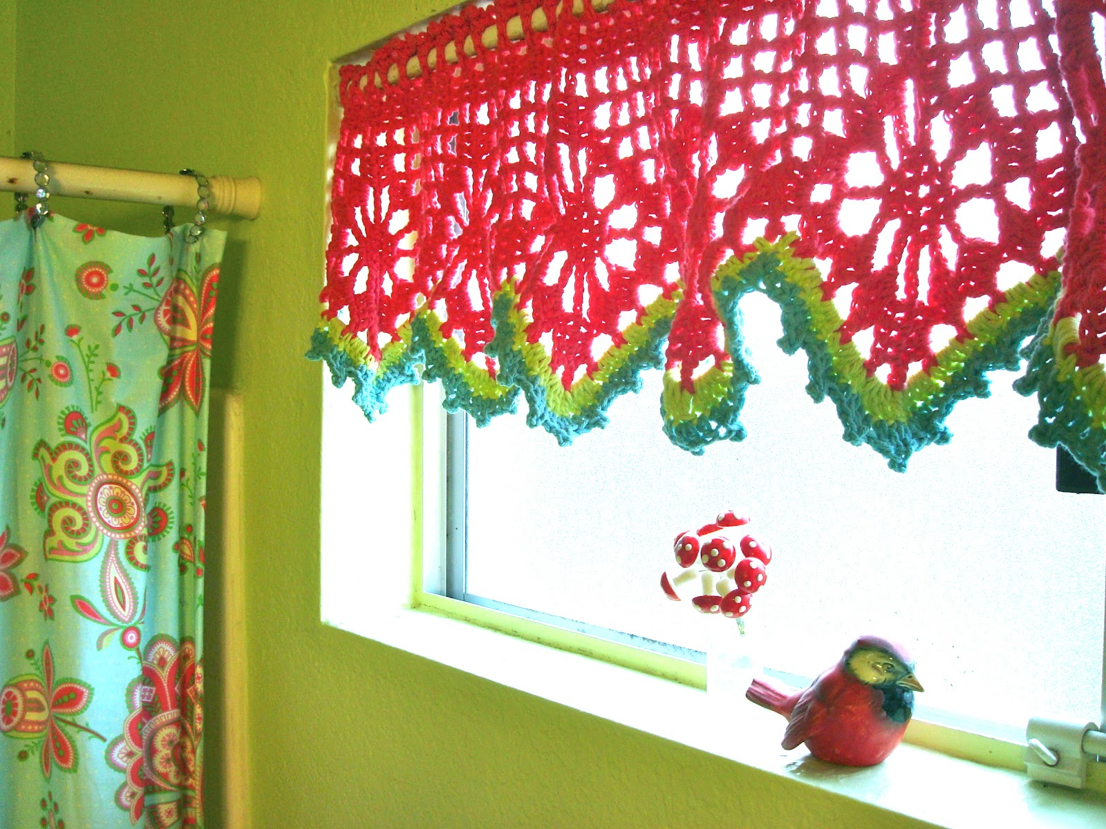 Crochet Patterns Valances : valance pattern here and picture here )