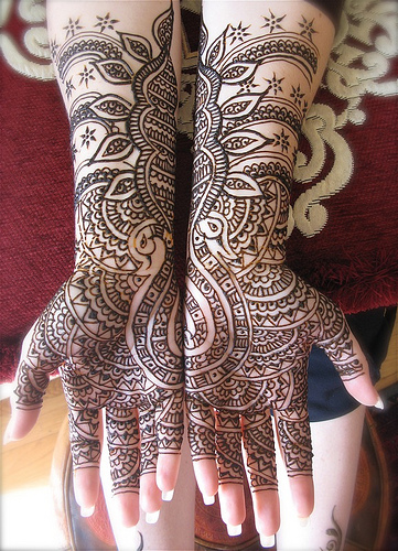 Indian Bridel Mehandi designs