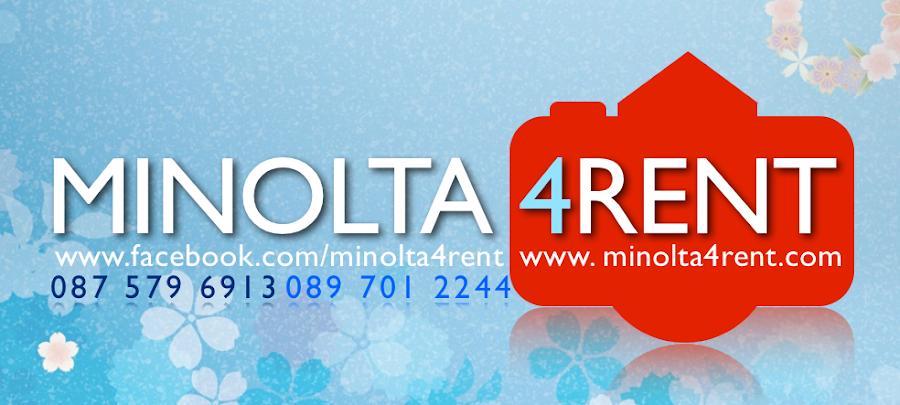 Minolta 4 Rent