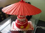 Vietnam Diaper Cake