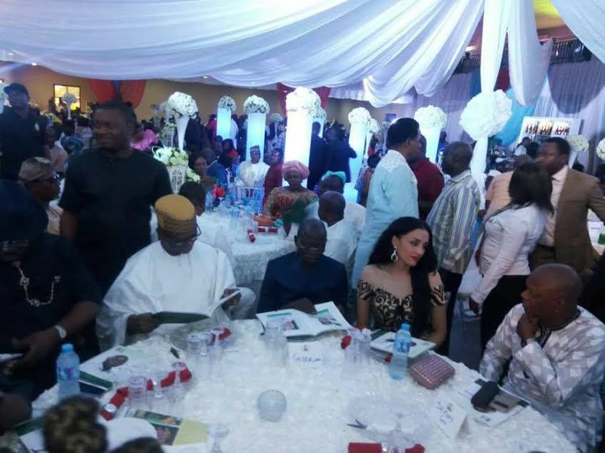 Linda ikeji oshiomole wedding
