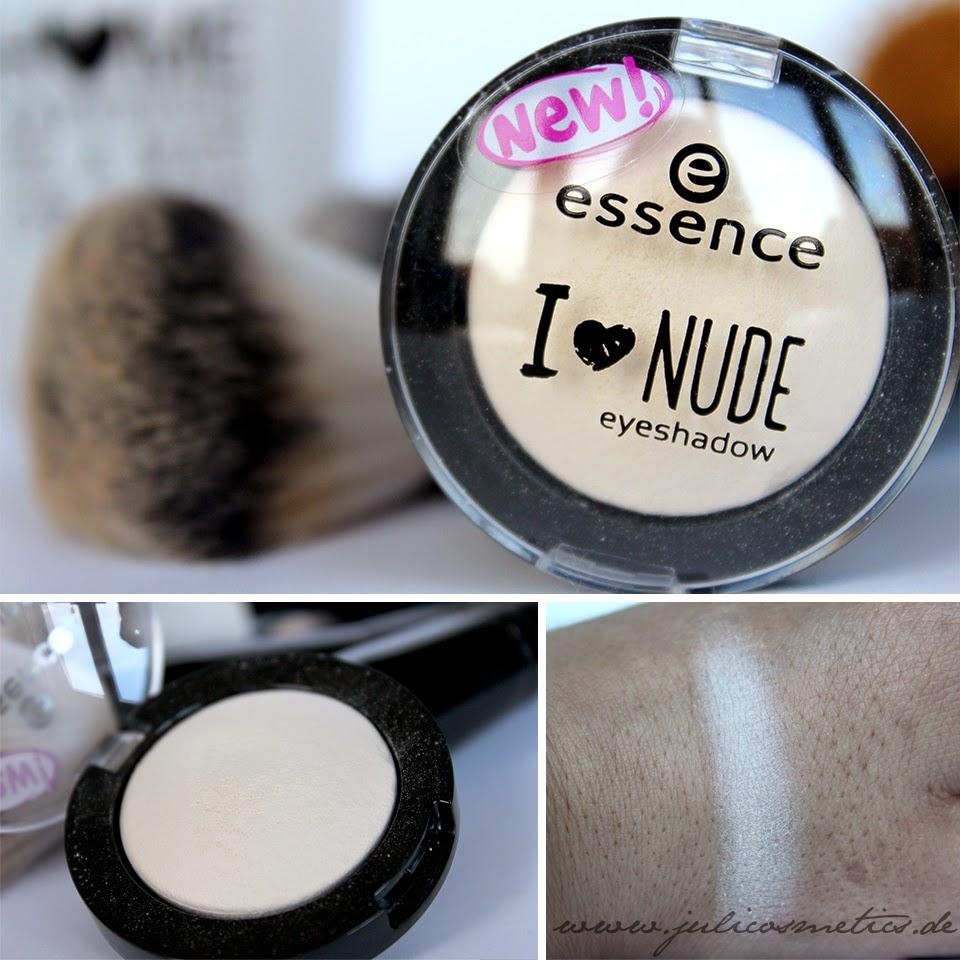 essence I love Nude eyeshadow - 01 vanilla sugar