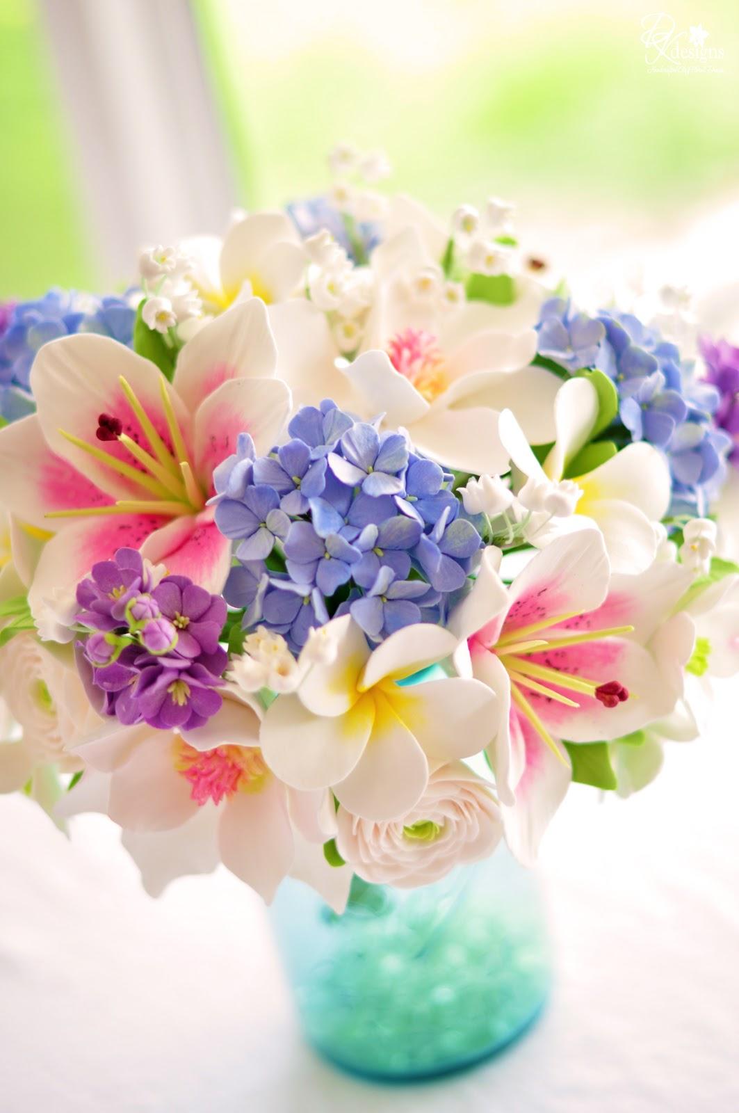 DK Designs: Spring Inspired Bouquet
