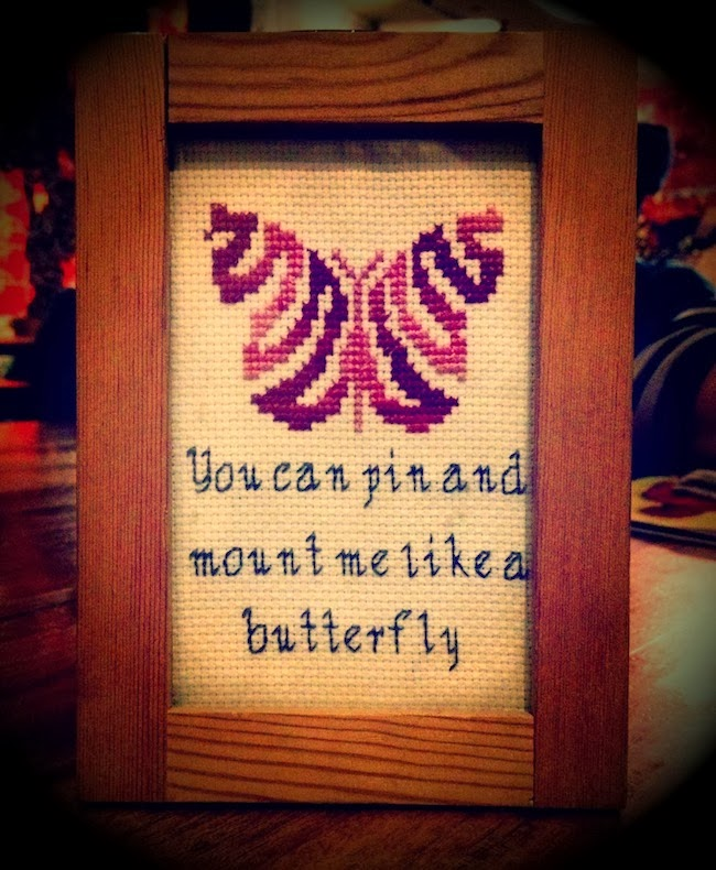 You can pin and noun me like a butterfly