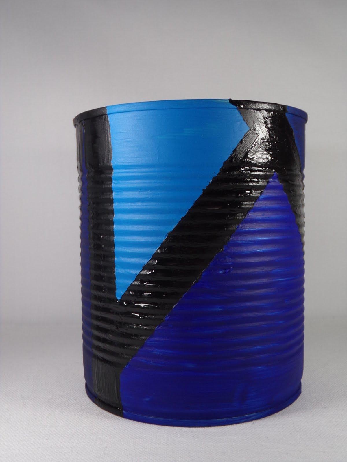 Atelier De Jessy Crea Recycler Une Boite De Conserve En Pot A Fleur
