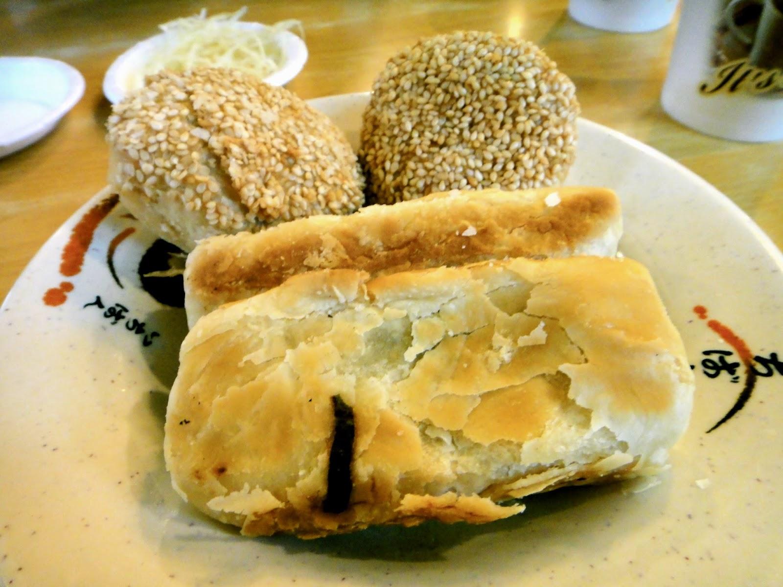 Spring Onion Baked Pastries Hao Gong Dao Yongkang Street
