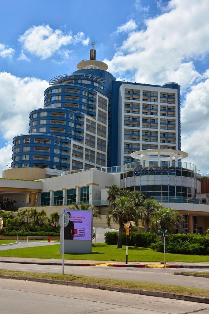 Punta del Este beach casino