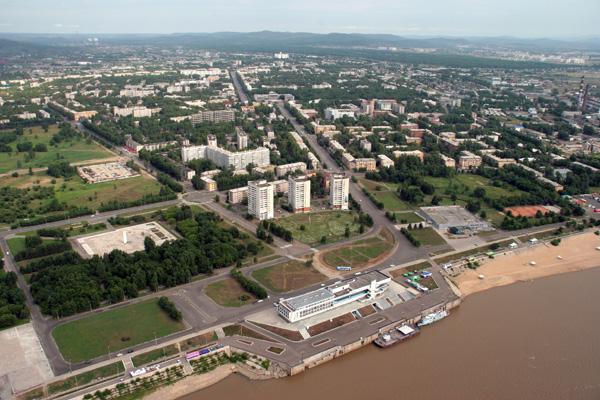 Комсомольск-на-Амуре. Начало