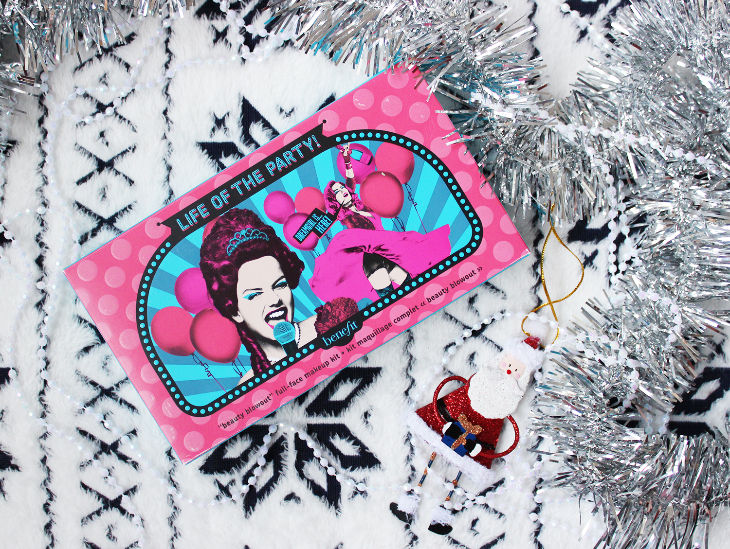 Benefit life of the party christmas giveaway