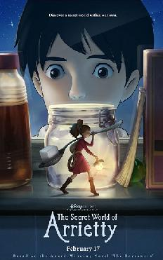 Watch The Secret World of Arrietty 2012 film