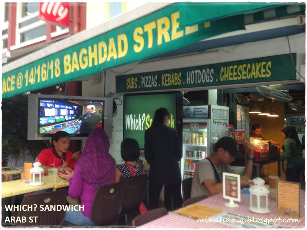 Mikahaziq halal subway alternative in singapore which for Arab cuisine singapore