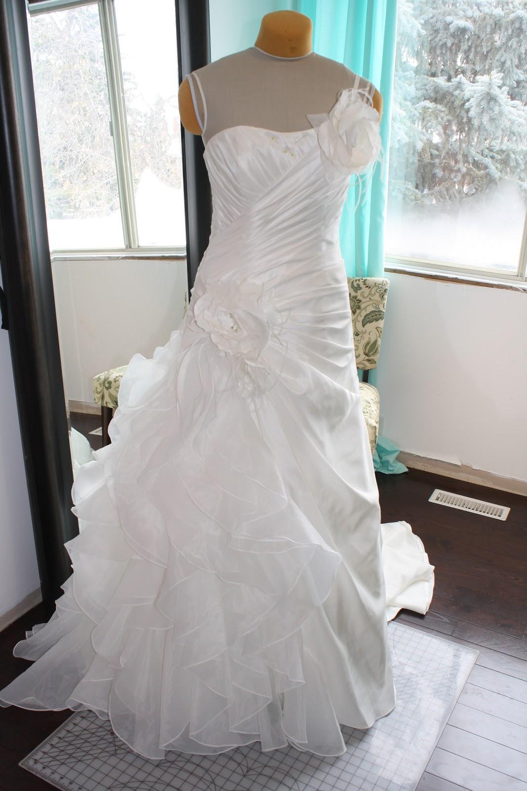 Banclothing Changing A Wedding Dress Neckline