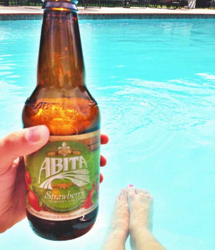 pool and beer